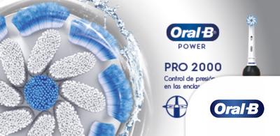 Cepillo eléctrico Oral B pro 2000